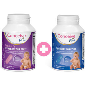 Men's + Women's Fertility Support van Conceive Plus